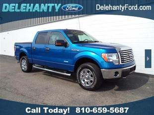 2012 Ford F150 XLT Crew Cab Pickup for sale in Flushing for $30,900 with 34,200 miles.