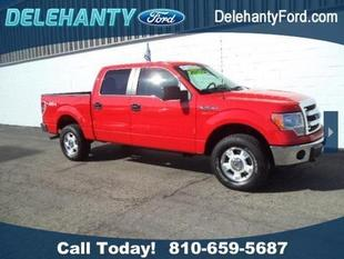 2013 Ford F150 XLT Crew Cab Pickup for sale in Flushing for $28,900 with 32,074 miles.
