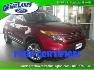 2013 Ford Explorer Limited SUV for sale in Ludington for $30,950 with 36,019 miles.