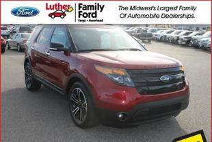 2014 Ford Explorer Sport SUV for sale in Fargo for $39,699 with 25,527 miles.