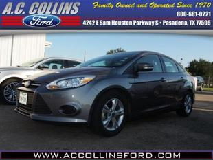 2014 Ford Focus SE Sedan for sale in Pasadena for $14,800 with 25,160 miles.