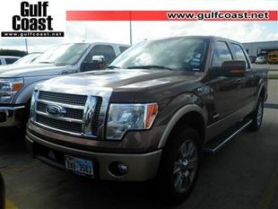 2012 Ford F150 Lariat Crew Cab Pickup for sale in Angleton for $33,991 with 53,811 miles.
