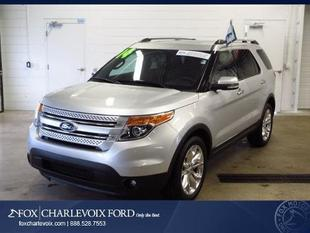 2014 Ford Explorer Limited SUV for sale in Charlevoix for $36,991 with 13,188 miles.