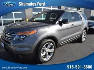 2013 Ford Explorer Limited SUV for sale in El Paso for $30,995 with 25,760 miles.