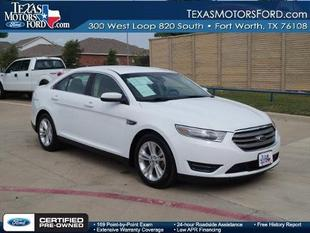 2014 Ford Taurus SEL Sedan for sale in Fort Worth for $21,717 with 19,428 miles.
