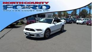 2013 Ford Mustang V6 Premium Convertible for sale in Vista for $20,998 with 22,345 miles.