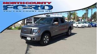 2012 Ford F150 FX4 Crew Cab Pickup for sale in Vista for $39,976 with 19,745 miles.