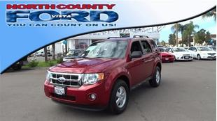 2012 Ford Escape XLT SUV for sale in Vista for $16,991 with 63,598 miles.