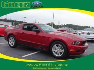 2012 Ford Mustang V6 Coupe for sale in Greensboro for $18,999 with 23,367 miles.