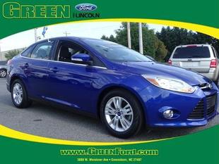2012 Ford Focus SEL Sedan for sale in Greensboro for $16,499 with 40,443 miles.