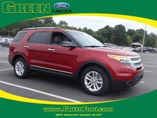 2013 Ford Explorer XLT SUV for sale in Greensboro for $27,000 with 21,142 miles.