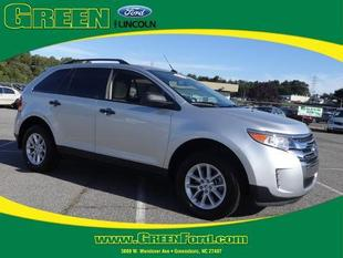 2014 Ford Edge SE SUV for sale in Greensboro for $23,999 with 6,383 miles.