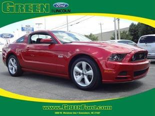 2013 Ford Mustang GT Coupe for sale in Greensboro for $29,999 with 26,905 miles.