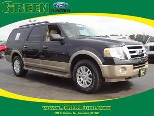 2013 Ford Expedition EL XLT SUV for sale in Greensboro for $35,999 with 35,168 miles.