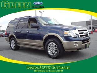 2013 Ford Expedition XLT SUV for sale in Greensboro for $38,999 with 16,593 miles.