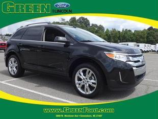2013 Ford Edge Limited SUV for sale in Greensboro for $26,000 with 31,256 miles.