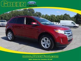 2014 Ford Edge SEL SUV for sale in Greensboro for $26,999 with 29,808 miles.