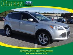 2014 Ford Escape SE SUV for sale in Greensboro for $22,999 with 34,134 miles.