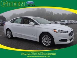 2014 Ford Fusion Hybrid SE Sedan for sale in Greensboro for $24,000 with 18,553 miles.