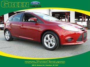 2014 Ford Focus SE Hatchback for sale in Greensboro for $18,500 with 5,799 miles.