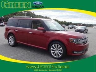 2014 Ford Flex Limited SUV for sale in Greensboro for $26,000 with 43,508 miles.
