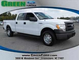 2013 Ford F150 XL Crew Cab Pickup for sale in Greensboro for $31,000 with 31,961 miles.