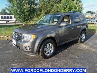 2011 Ford Escape Limited SUV for sale in Londonderry for $22,495 with 22,406 miles.