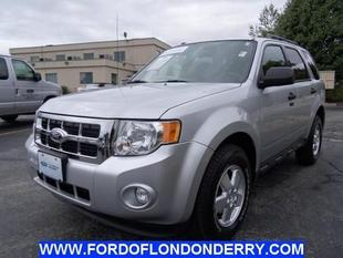 2012 Ford Escape XLT SUV for sale in Londonderry for $20,999 with 37,041 miles.