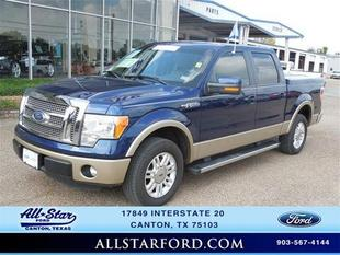 2012 Ford F150 Lariat Crew Cab Pickup for sale in Canton for $29,999 with 50,298 miles.