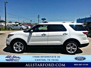 2014 Ford Explorer Limited SUV for sale in Canton for $33,598 with 25,782 miles.