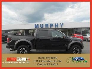 2012 Ford F150 SVT Raptor Crew Cab Pickup for sale in Chester for $51,495 with 27,340 miles.
