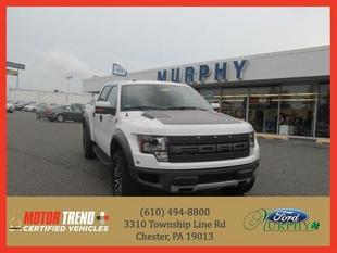 2012 Ford F150 SVT Raptor Crew Cab Pickup for sale in Chester for $50,895 with 30,948 miles.