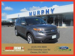 2011 Ford Explorer Limited SUV for sale in Chester for $28,995 with 57,410 miles.
