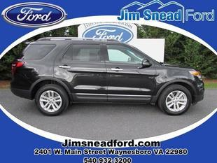 2013 Ford Explorer XLT SUV for sale in Waynesboro for $31,980 with 31,999 miles.