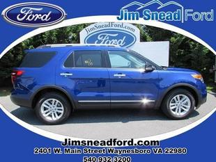2013 Ford Explorer XLT SUV for sale in Waynesboro for $30,980 with 29,404 miles.