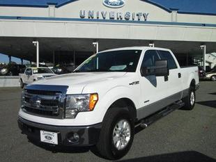 2013 Ford F150 XLT Crew Cab Pickup for sale in Durham for $29,500 with 59,590 miles.