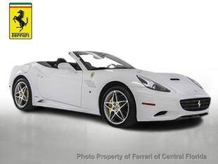 2013 Ferrari California Base Convertible for sale in Orlando for $179,895 with 4,659 miles.