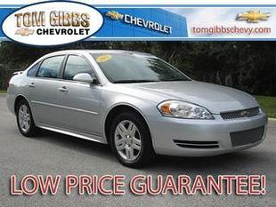 2012 Chevrolet Impala Sedan for sale in Palm Coast for $14,895 with 26,626 miles.