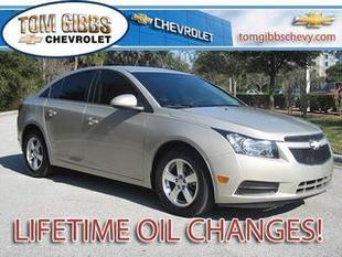 2013 Chevrolet Cruze Sedan for sale in Palm Coast for $14,995 with 40,687 miles.