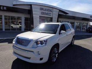 2011 GMC Acadia SUV for sale in Tifton for $36,788 with 43,369 miles.