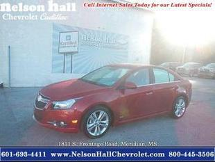 2014 Chevrolet Cruze Sedan for sale in Meridian for $19,998 with 9,842 miles.