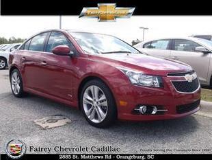 2013 Chevrolet Cruze Sedan for sale in Orangeburg for $16,975 with 34,716 miles.