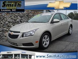 2013 Chevrolet Cruze Sedan for sale in Laurens for $14,000 with 41,548 miles.