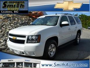 2013 Chevrolet Tahoe SUV for sale in Laurens for $34,000 with 37,334 miles.