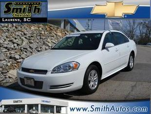 2013 Chevrolet Impala Sedan for sale in Laurens for $14,000 with 30,574 miles.