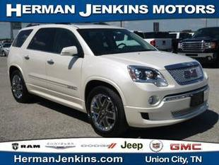 2012 GMC Acadia SUV for sale in Union City for $35,988 with 38,458 miles.