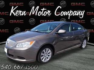 2012 Buick LaCrosse Sedan for sale in Winchester for $18,494 with 34,268 miles.