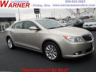 2013 Buick LaCrosse Sedan for sale in Findlay for $22,792 with 12,783 miles.