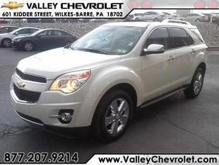 2013 Chevrolet Equinox SUV for sale in Wilkes Barre for $28,963 with 4,691 miles.