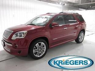 2012 GMC Acadia SUV for sale in Muscatine for $36,490 with 48,170 miles.